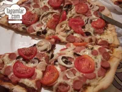 Sosiskaly pizza