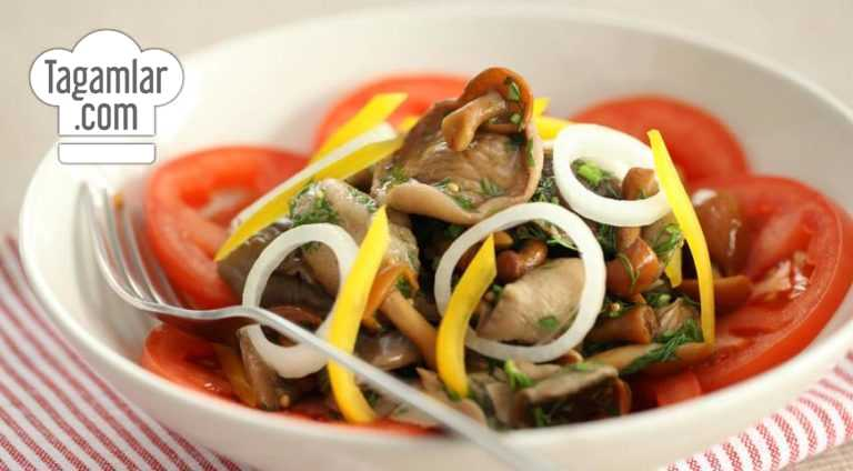Marinowat edilen kömelekli salat