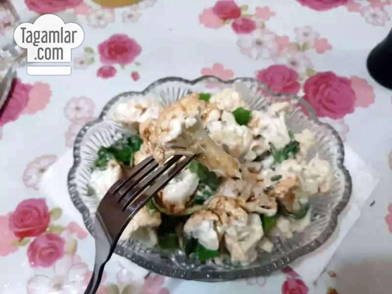 Gül kelemli salat surat 5