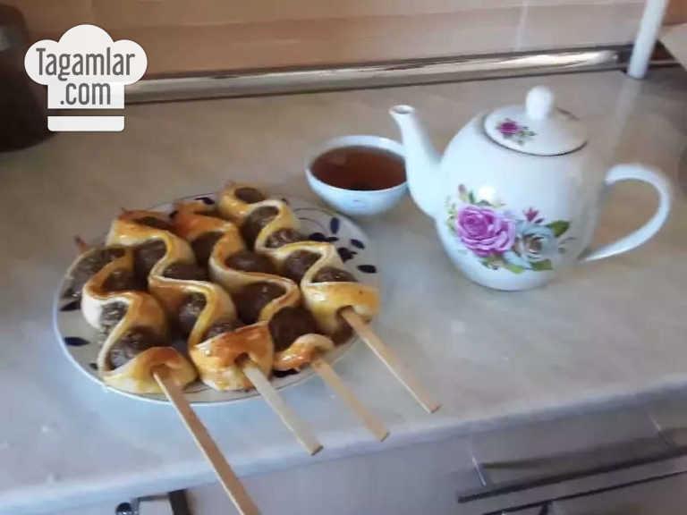 Howur peçde bişirilýän lüle-kebab surat 5