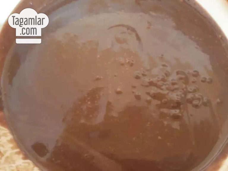 5 minutda süýjilik: Şokolad örtülen banan surat 2
