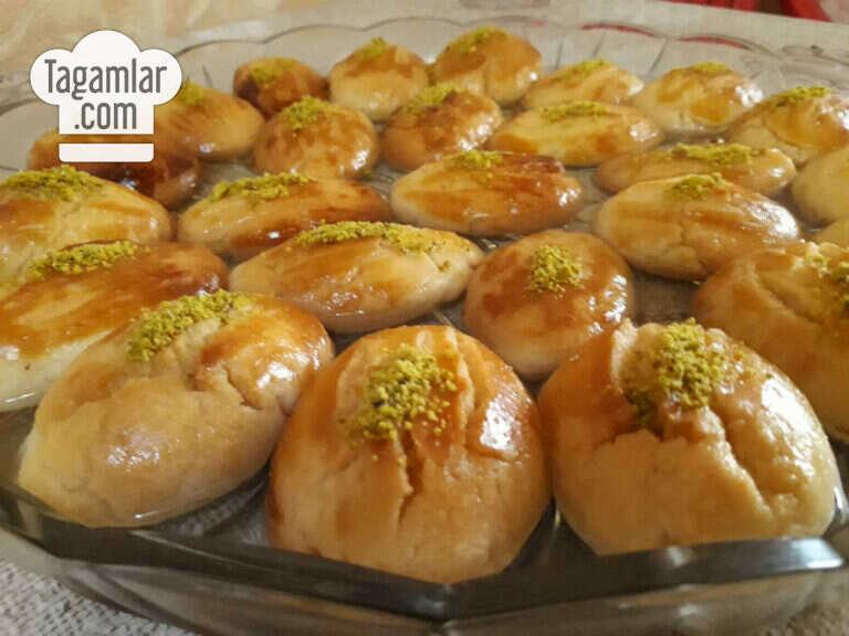 Şekerpare – şerbetli türk köke